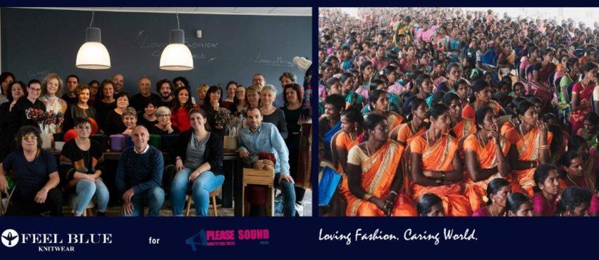 Natale 2019: Feel Blue e Please Sound Onlus per le donne indiane
