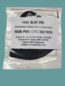 Feel Blue avvia la produzione di mascherine