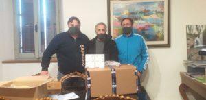 Feel Blue consegna mascherine al Comune di Sarnano