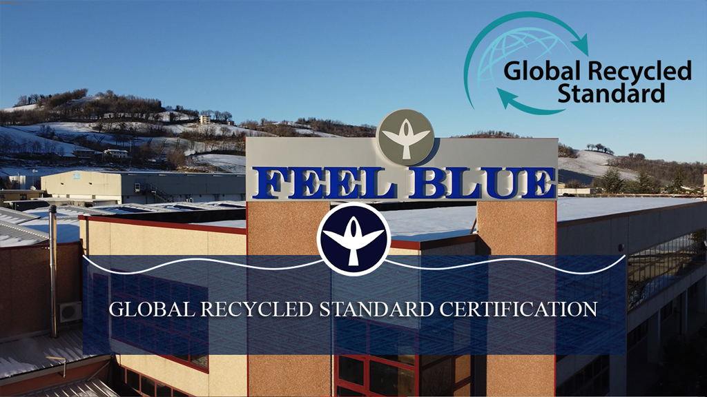 Feel Blue ottiene la certificazione Global Recycled Standard