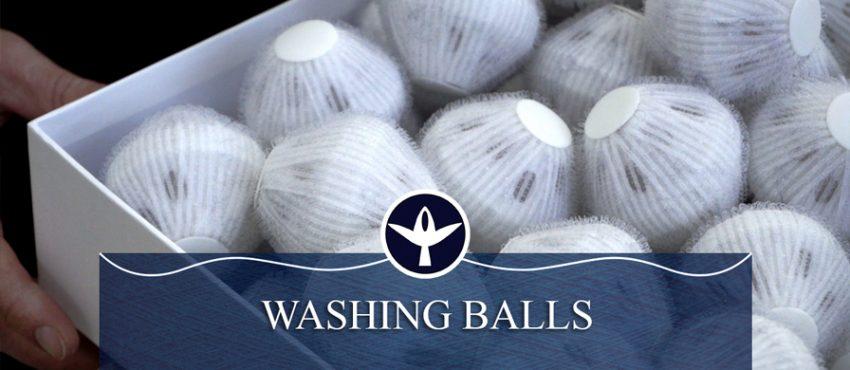 Lavaggio ecologico senza detersivi con le Washing Ball